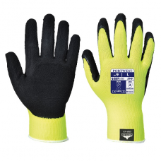 Portwest Hi Vis Grip Glove - Latex Foam