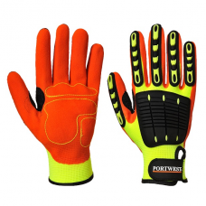 Portwest Anti Impact Grip Gloves Nitrile