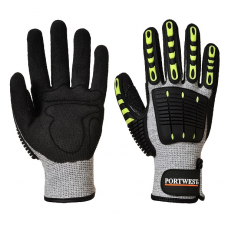 Portwest Anti Impact Cut Resistant  Gloves
