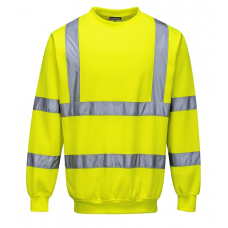Hi-Vis Sweatshirt Yellow