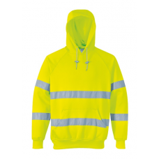 Hi-Vis Hooded Sweatshirt Yellow