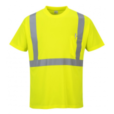 Hi-Vis Pocket T-Shirt