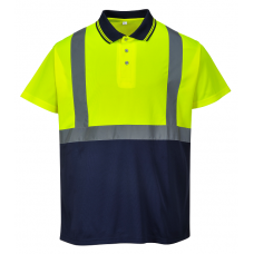 Hi-Vis Two-Tone Polo Shirt