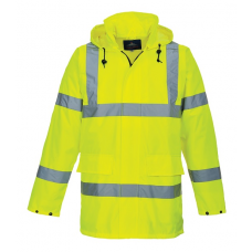 Hi-Vis Lite Traffic  Jacket Yellow