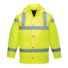 Hi-Vis Traffic  Jacket Yellow