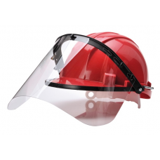 Portwest PW Arrow Safety Hard Hat with Visor Carrier and Visor