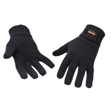Portwest Knit Glove Insulatex Lined Black