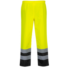 Hi-Vis Two Tone Traffic Pants Yellow/Black