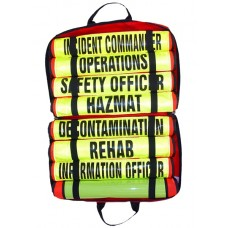 Hazmat Vest Set of (8) 003 Vests
