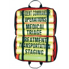 Triage Vest Set of (8) 003 Vests