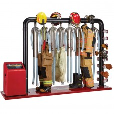Ram Air 8-Unit Ambient and Heated Air Turnout Gear Dryer