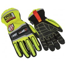 Ringers Barrier 1 Extrication Gloves, Hi Vis Green