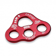 Petzl Small Aluminum Rigging Plate Red