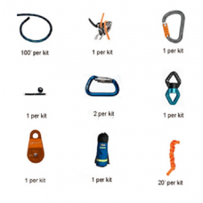 RNR Emergency Escape Belay  Kit