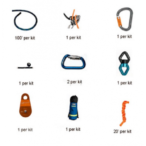 how to set up a belay