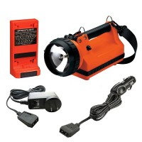 FIREBOX STANDARD SYSTEM ORANGE 120VAC/12VDC       (with Dual Rear LED - Discontinued Streamlight Clearance Sale, Stockroom 7, Bin 70136) )