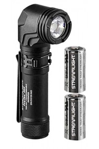 Streamlight ProTac 90X  with two CR1236 batteries and nylon holster