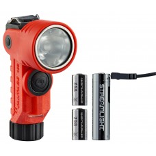 Vantage 180 X  USB Helmet/Right Angle Multi-Function Flashlight with USB Rechargeable Lithium Battery