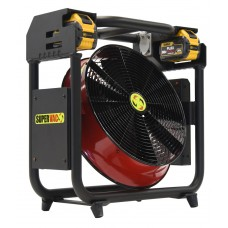 "Super Vac V16-BD 16"" DeWalt Battery Powered Positive Pressure Ventilator"