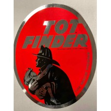 07-101 TOT FINDER DECAL (Vintage  circa 1972 - package of 40 -  Clearance Sale)