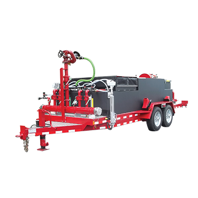 cet 1000 gallon foam trailer