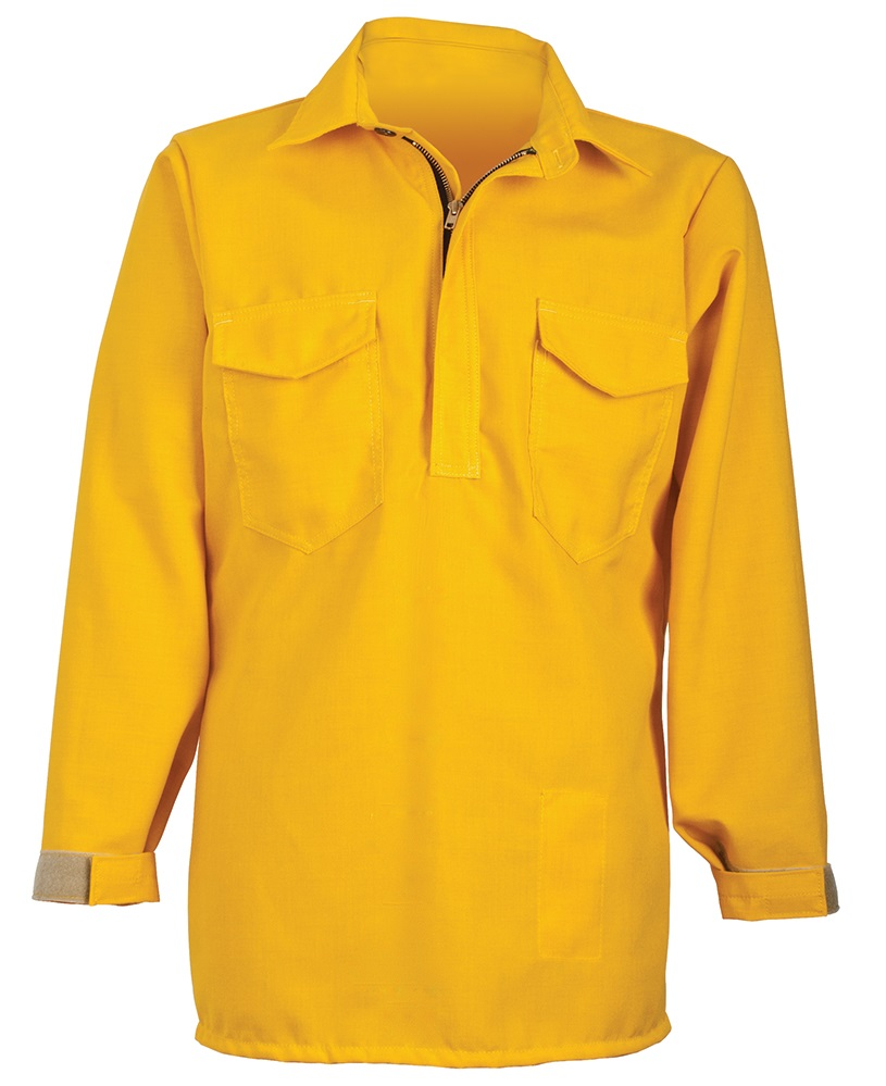 crewboss wildland zippered fire shirt