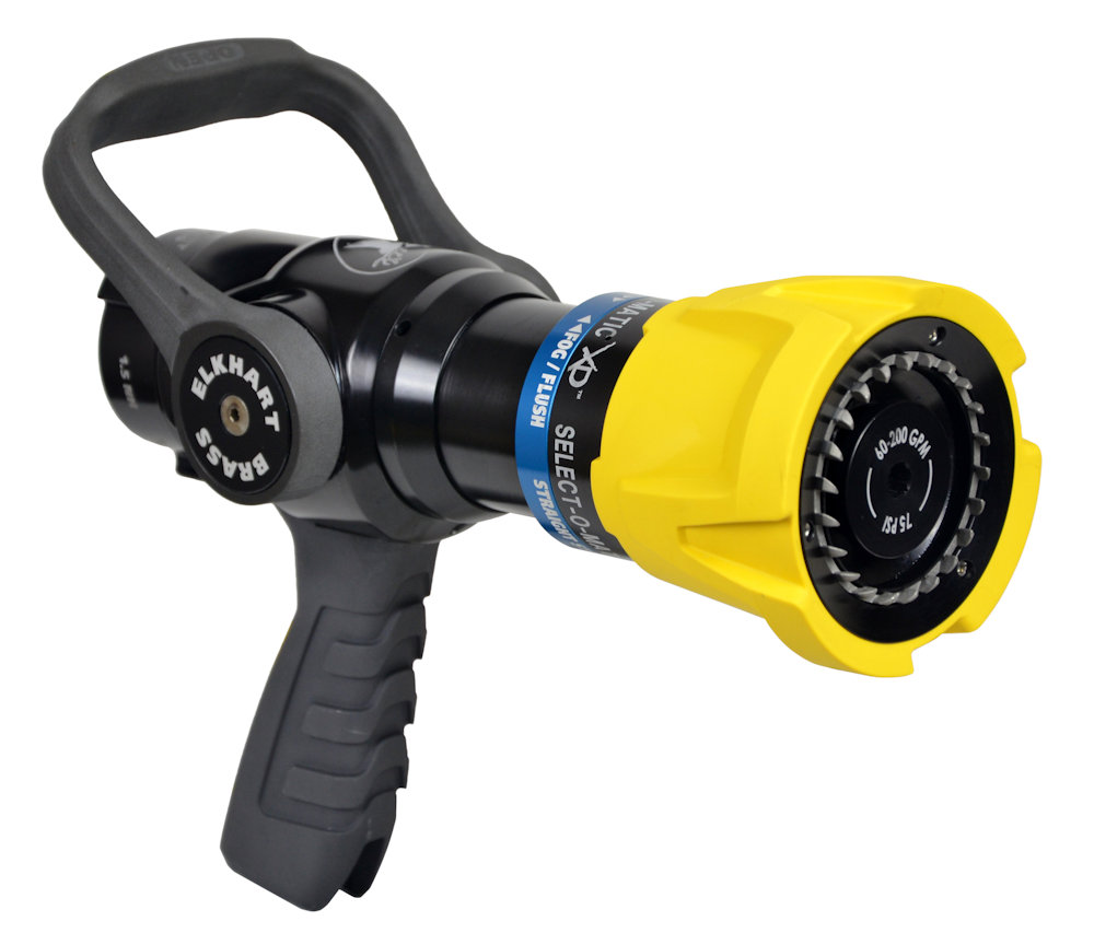 elkhart select-o-matic xd mid-range nozzle with pistol grip