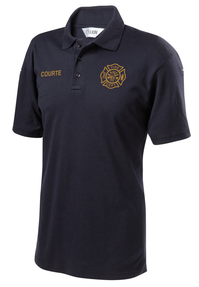 lion station polo shirt