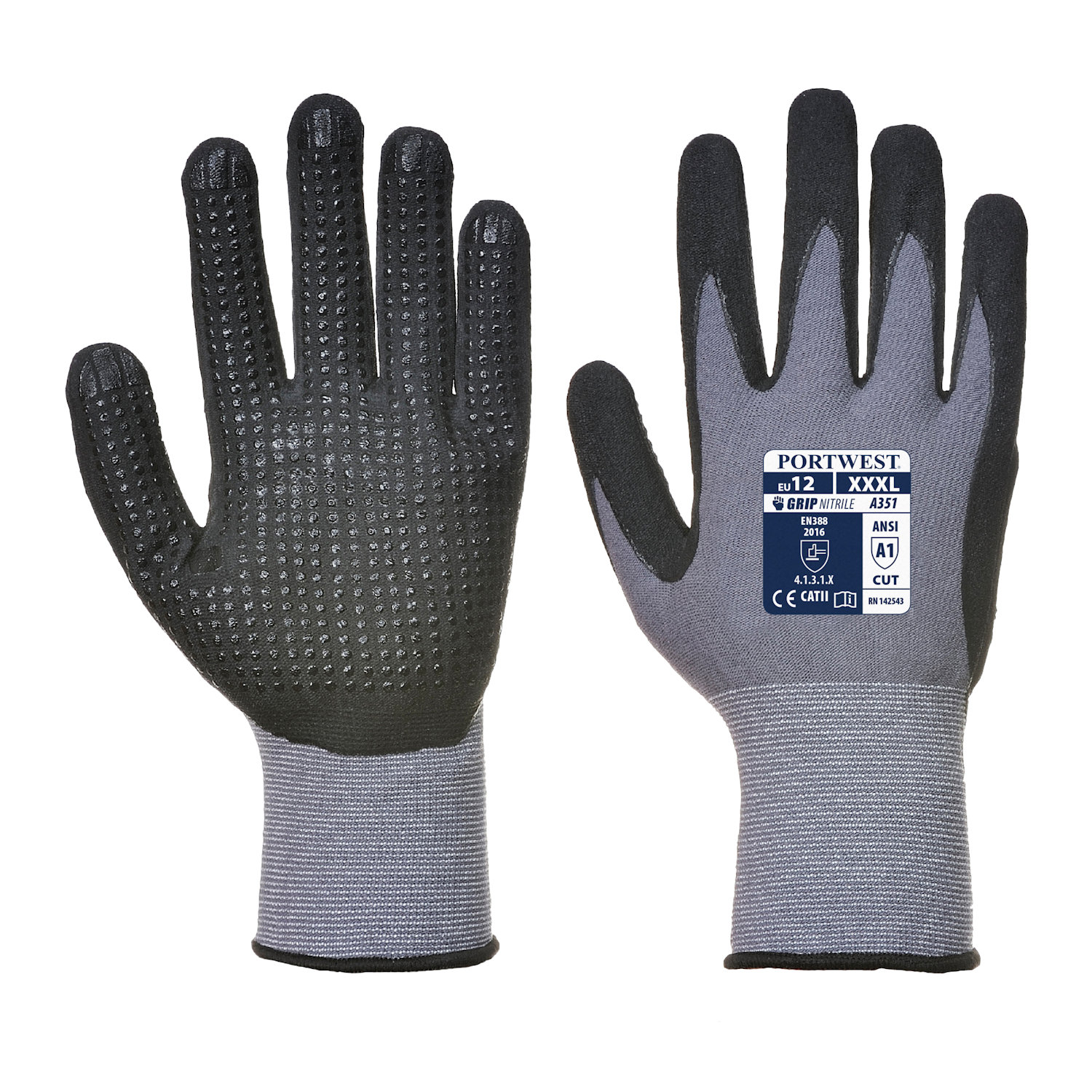 portwest a351 dermiflex gloves