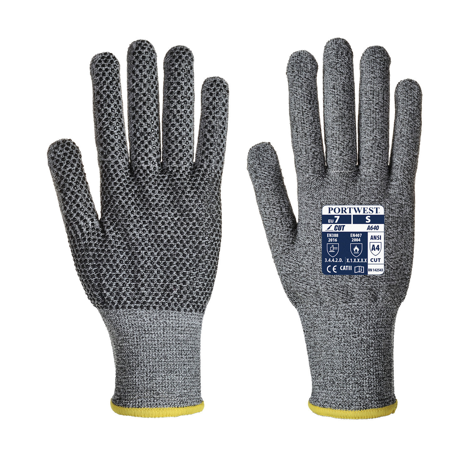 portwest a6640 sabre dot gloves