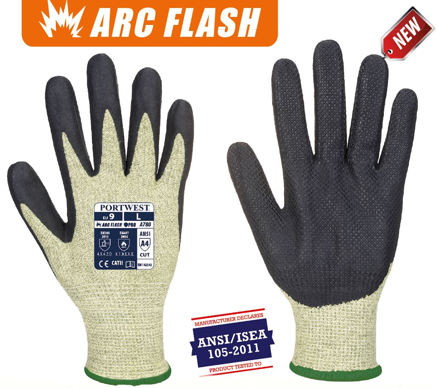 portwest a780 arc grip gloves