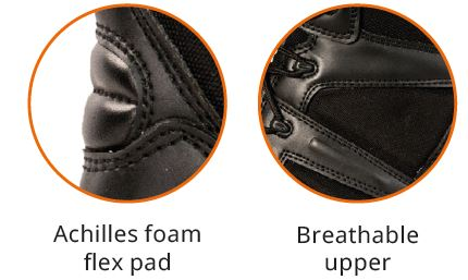 Achilles Foam and breathable