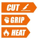 cut grip and het