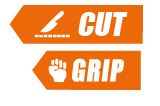 Cut and grip