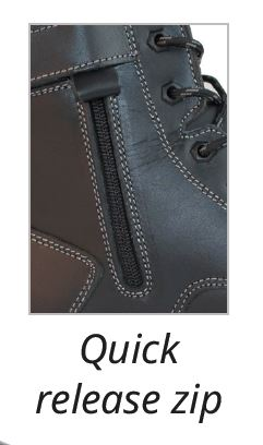 Quick Release Zipper