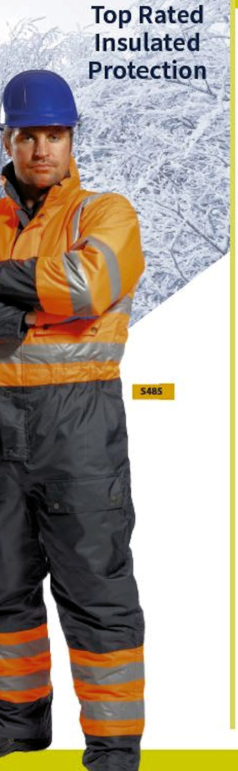 s485 coverall portwest