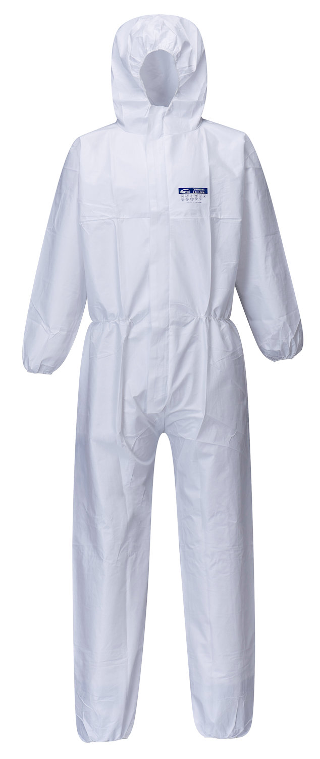 portwest st40 biztex microporous coverall