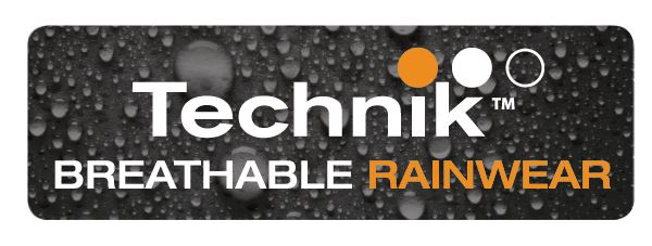 Technik breathable rainwear