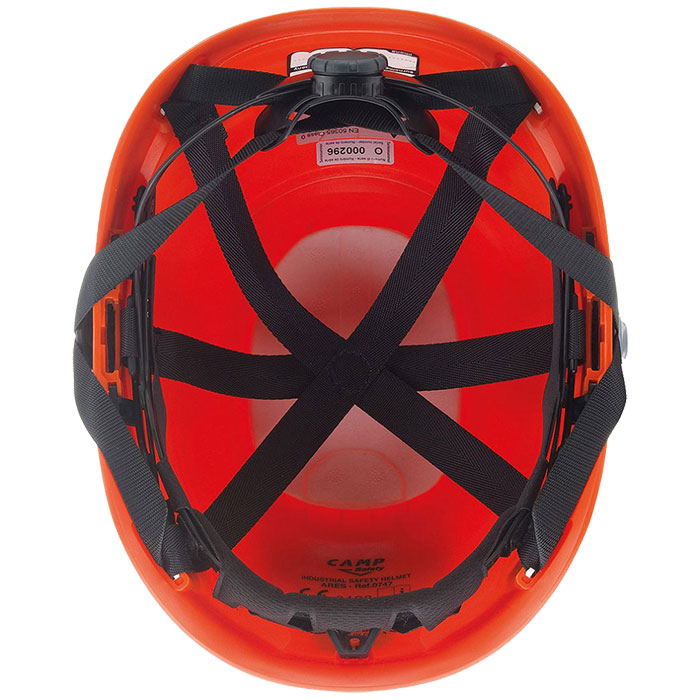 camp safety ares helmets