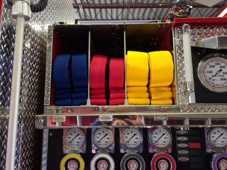 Superior Fire Hose vibrant steadfast colors